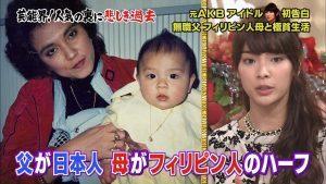 高安晃 母 父親 秋元才加 画像